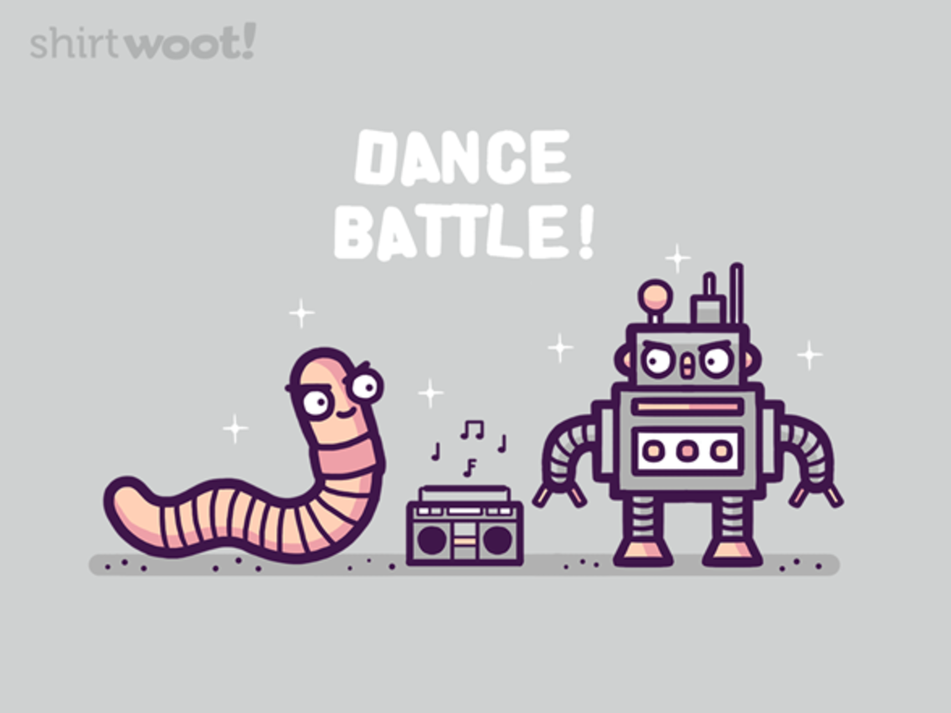 Woot!: Dance Battle - $8.00 + $5 standard shipping