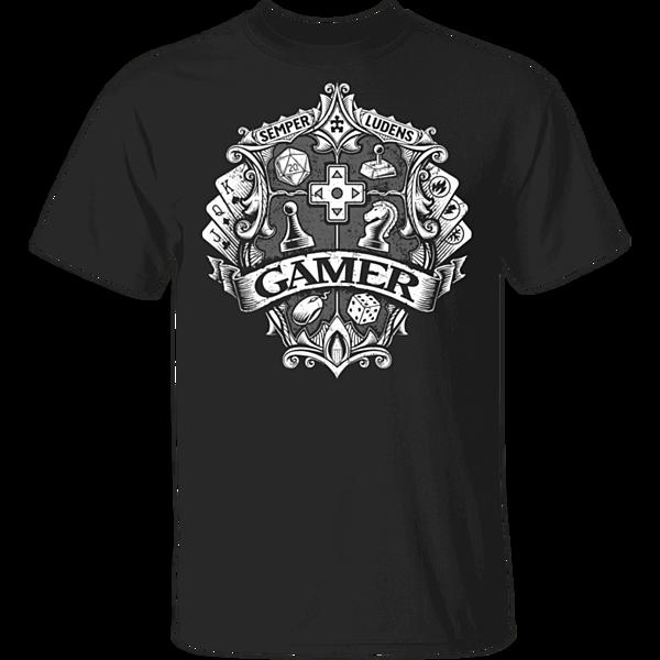 Pop-Up Tee: Gamer Crest