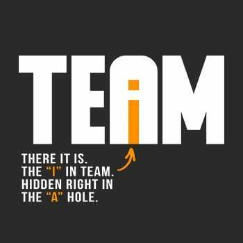 BustedTees: The I In Team