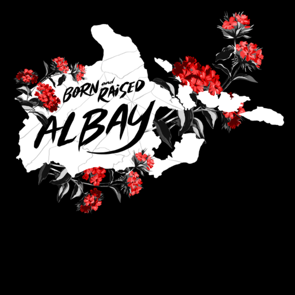 NeatoShop: 004 - Albay - Born and Raised - Black and Red