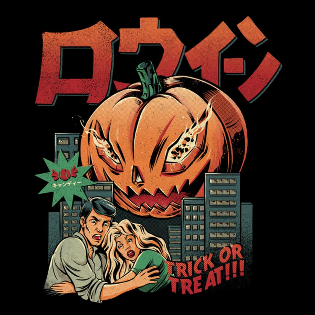 The Yetee: The Killer Pumpkin