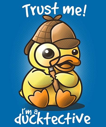 Qwertee: Ducktective