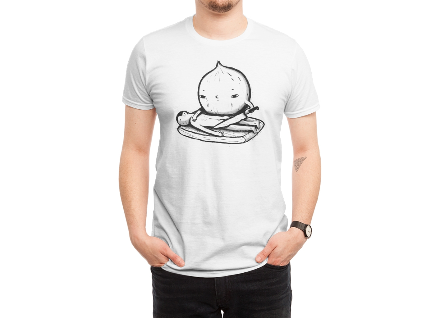 Threadless: onion role reversal