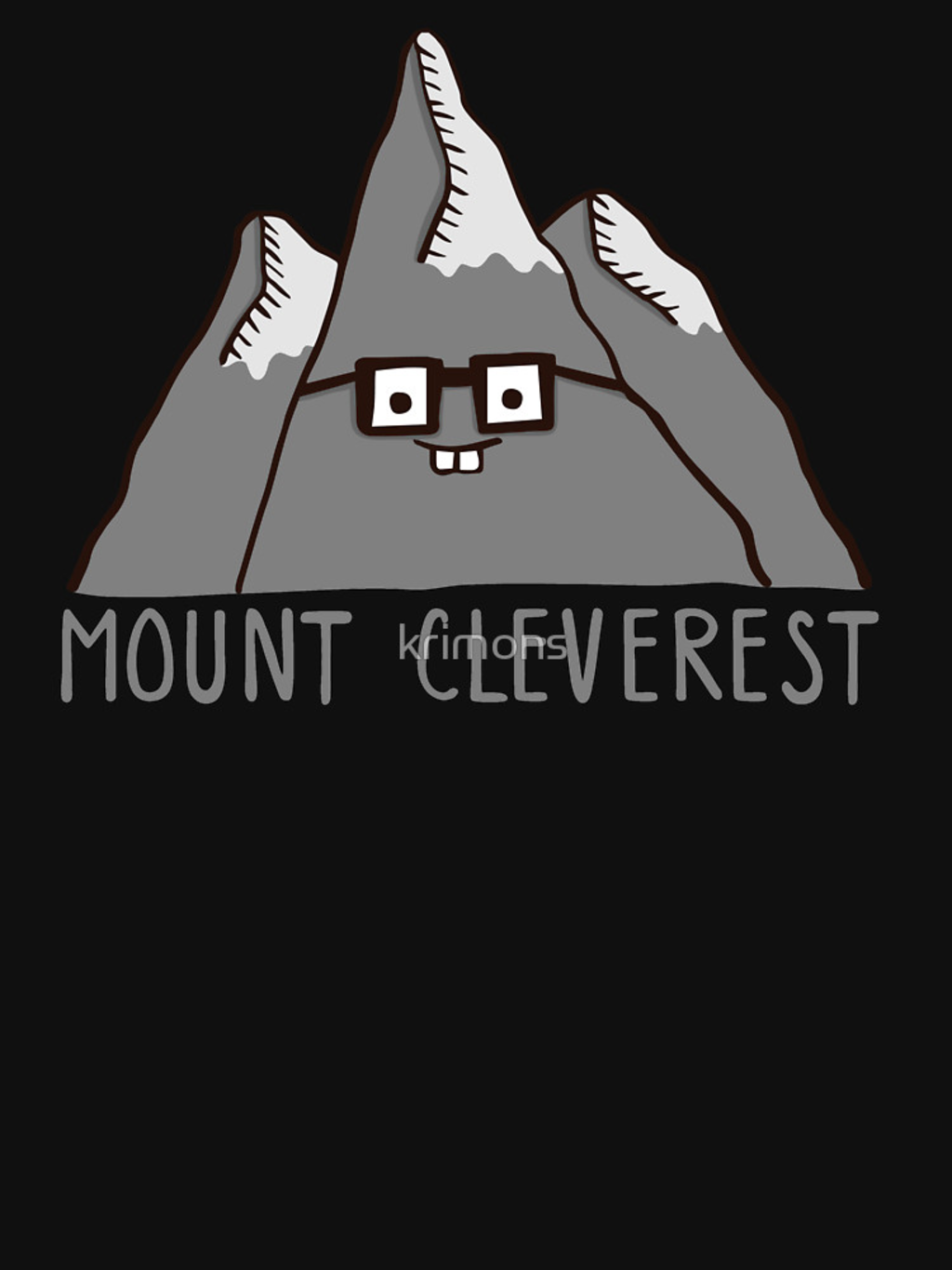RedBubble: Nerd Mount Cleverest