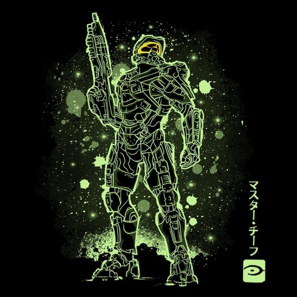 Once Upon a Tee: The Master Chief