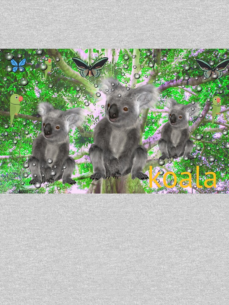 RedBubble: Koala in the rain
