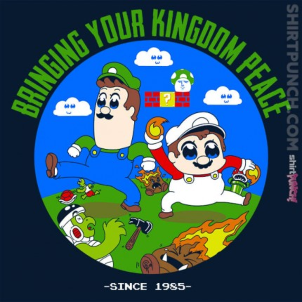 ShirtPunch: Pop Team Mario