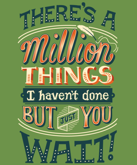 Qwertee: Million Things