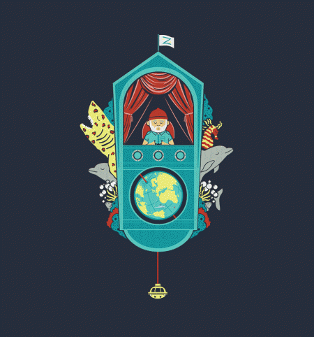 BustedTees: Aquatic Adventurer