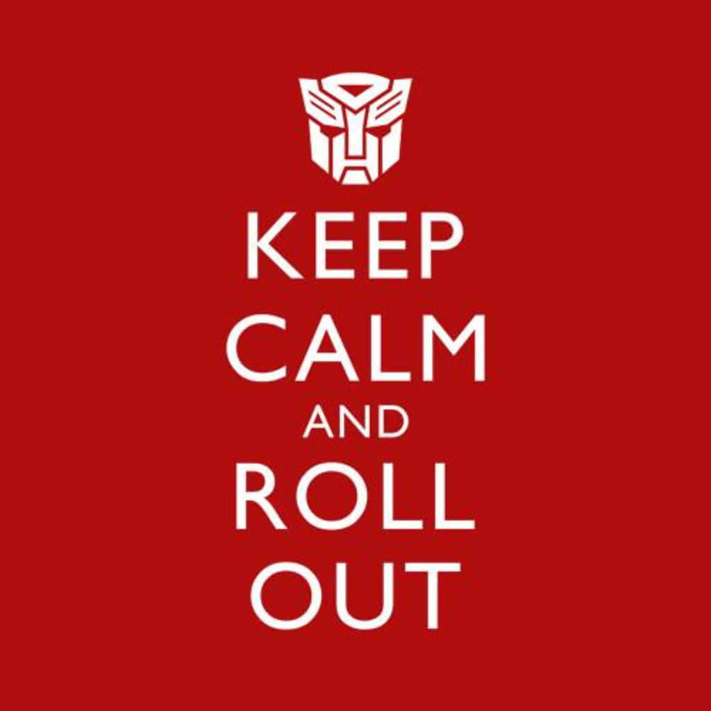 Five Finger Tees: Keep Calm And Roll Out T-Shirt