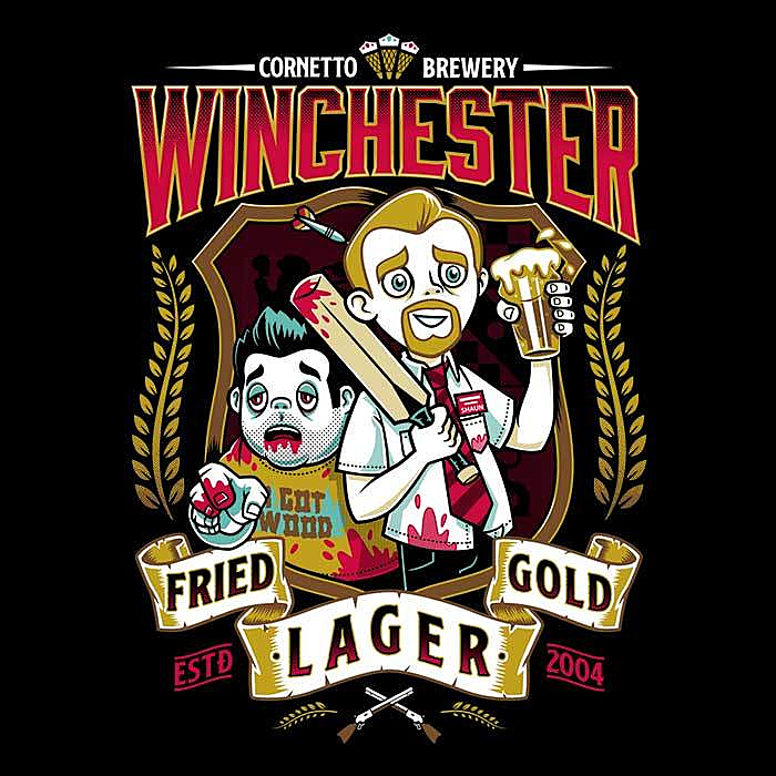 Once Upon a Tee: Fried Gold Lager