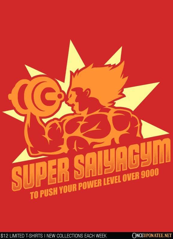 Once Upon a Tee: Super Saiya-Gym