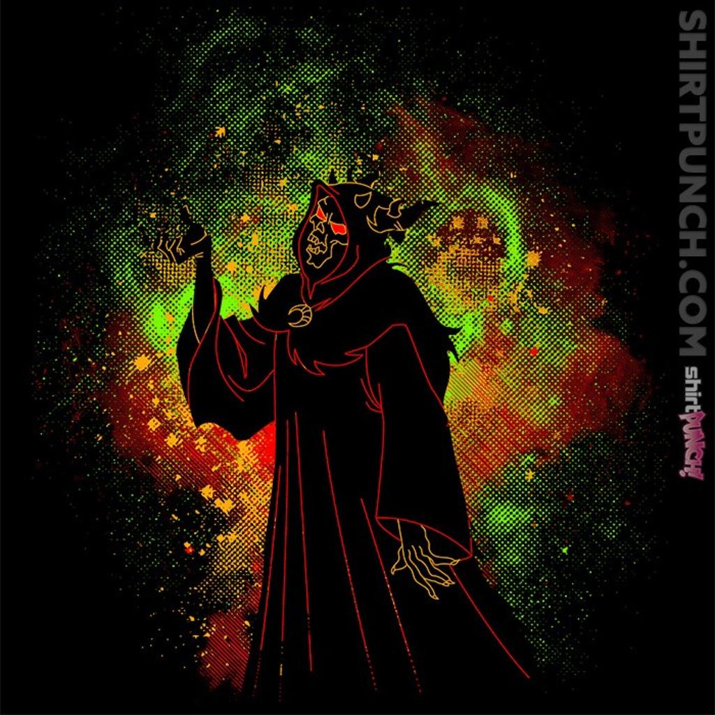 ShirtPunch: Horned King Art