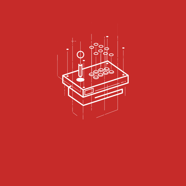 TeePublic: Arcade Stick Layout