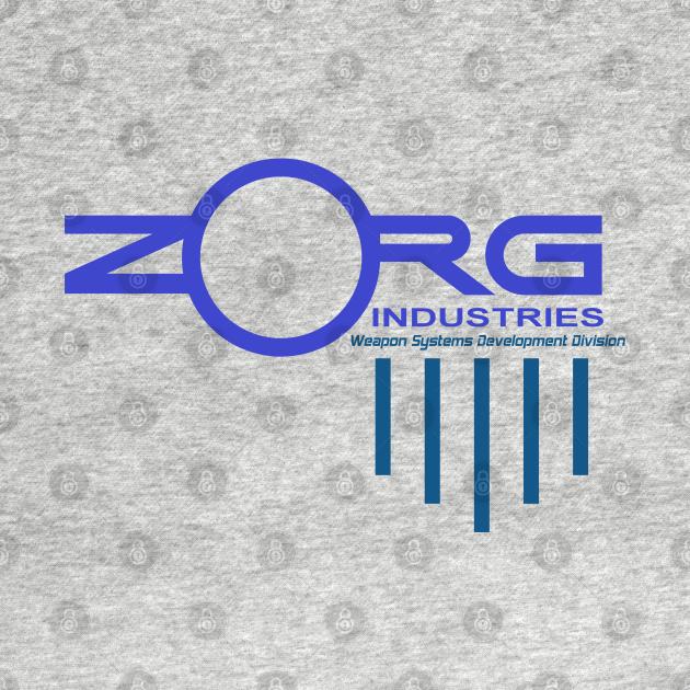 TeePublic: ZORG logo