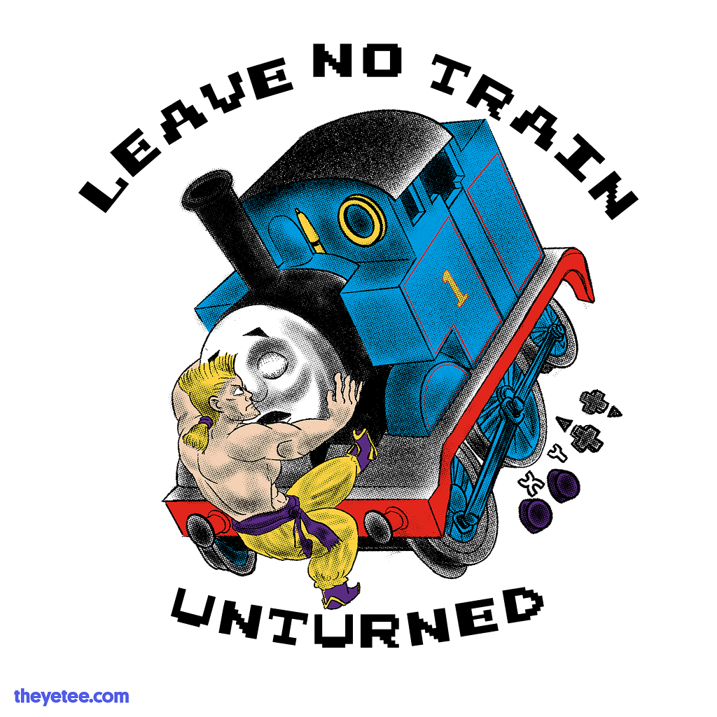The Yetee: LEAVE NO TRAIN UNTURNED