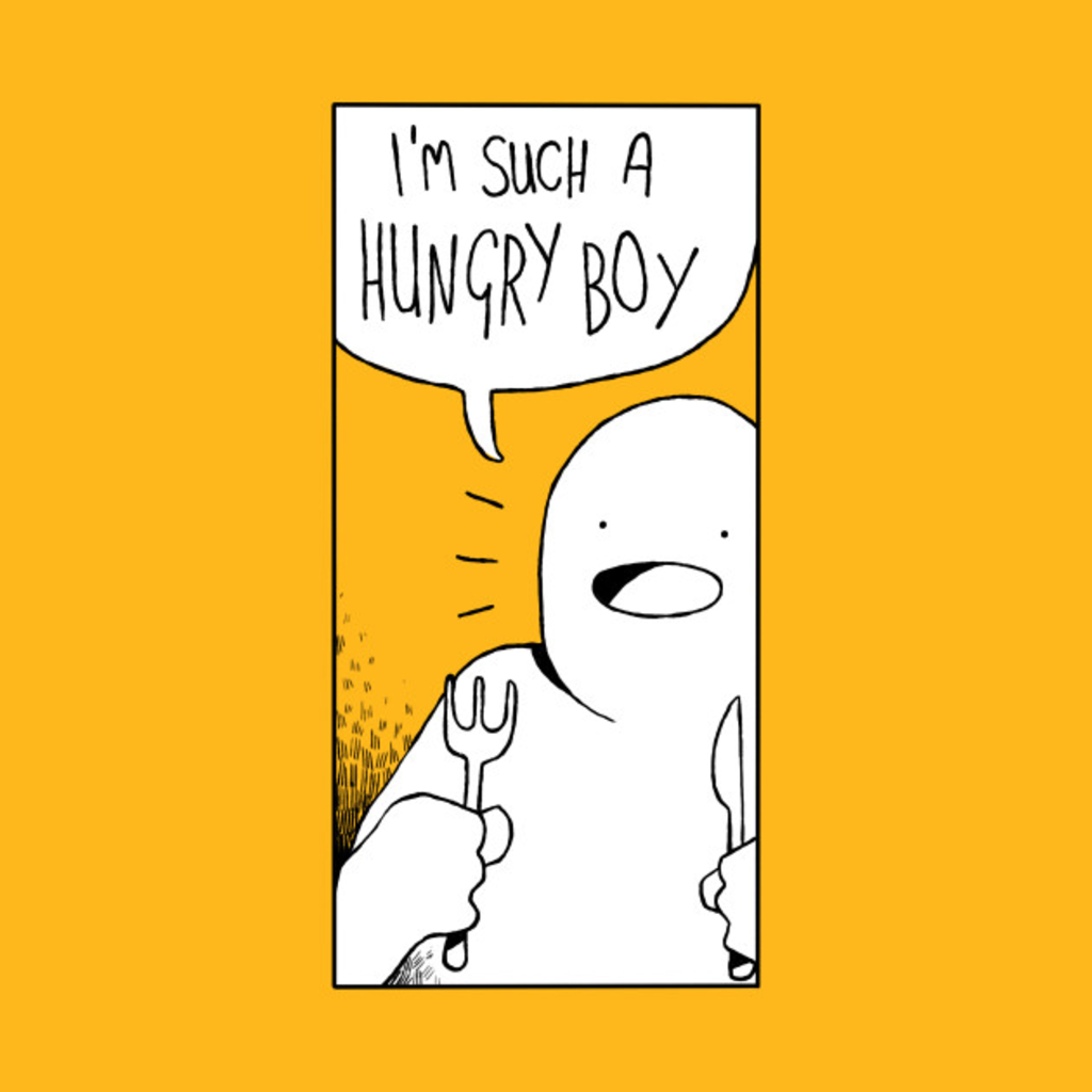 TeePublic: HUNGRY BOY