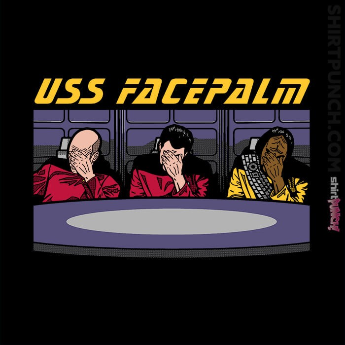 ShirtPunch: USS Facepalm