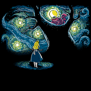 Qwertee: Starry Wonderland