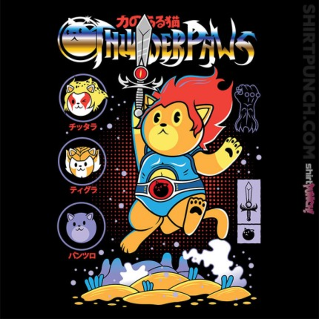 ShirtPunch: Thunderpaws