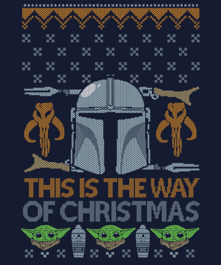 Qwertee: This is The Way of Christmas