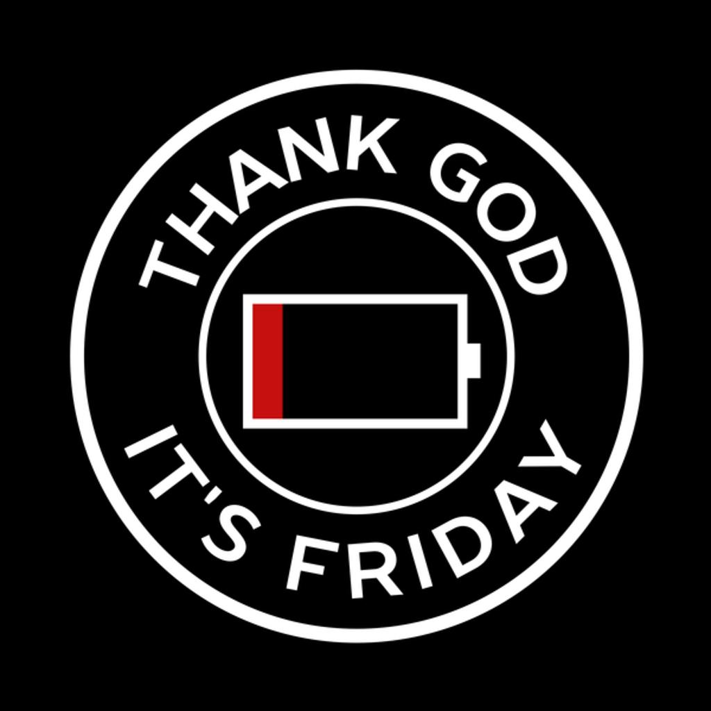 NeatoShop: Circular Minimal Thank God It's Friday