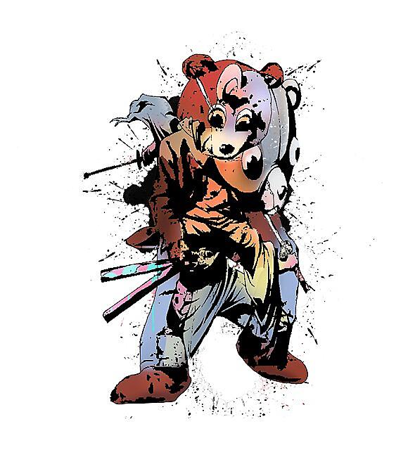 RedBubble: Samurai Dropout