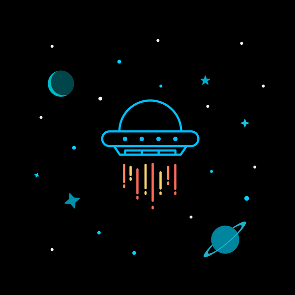 NeatoShop: A UFO In Outer Space