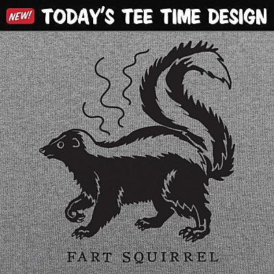 6 Dollar Shirts: Fart Squirrel