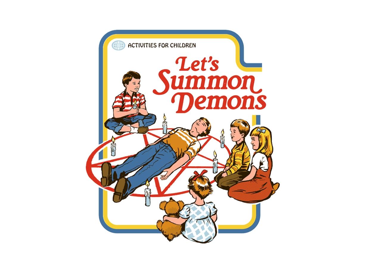 Threadless: Let's Summon Demons
