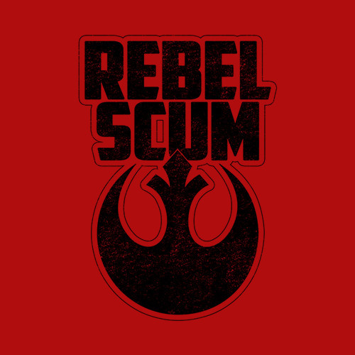 Five Finger Tees: Rebel Scum T-Shirt