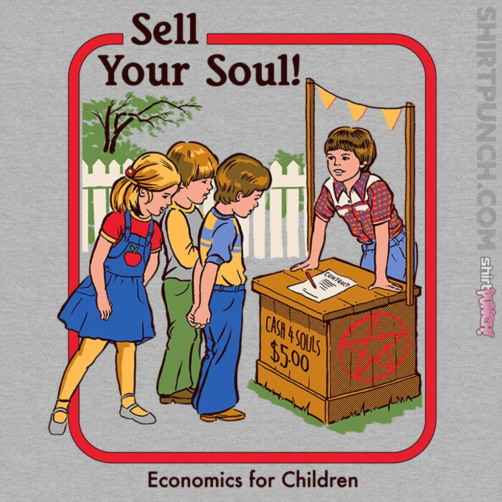 ShirtPunch: Sell Your Soul