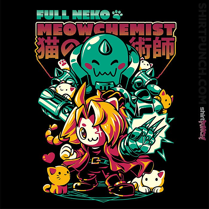 ShirtPunch: Full Neko Meowchemist
