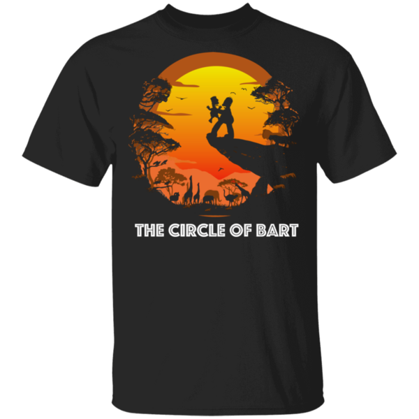 Pop-Up Tee: Circle of Bart
