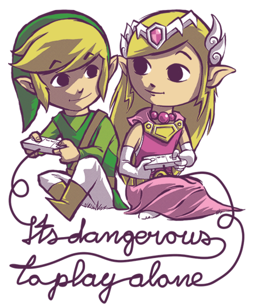 Qwertee: It's dangerous to play alone