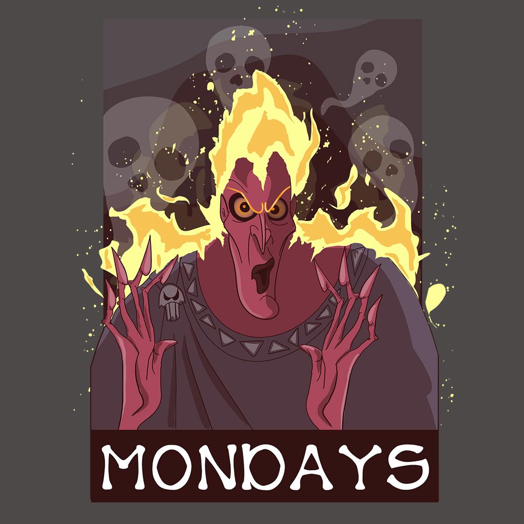 TeeTee: Mondays.
