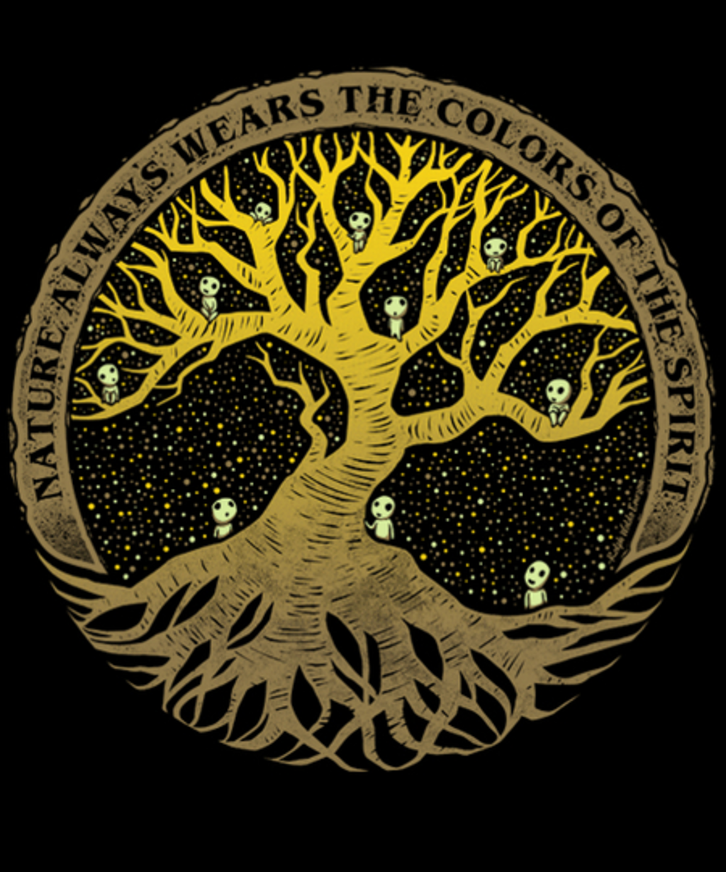 Qwertee: Spirit Color