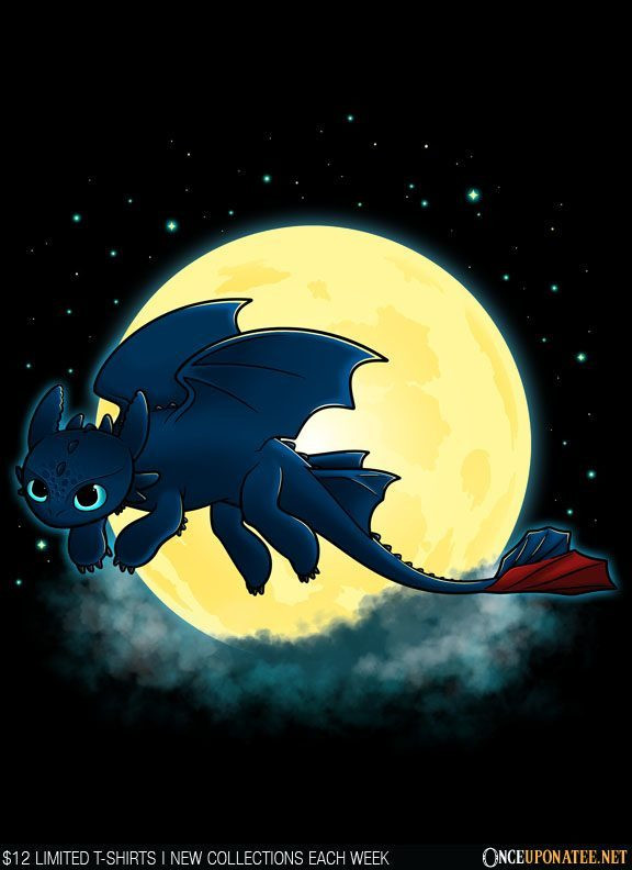 Once Upon a Tee: Goodnight Fury