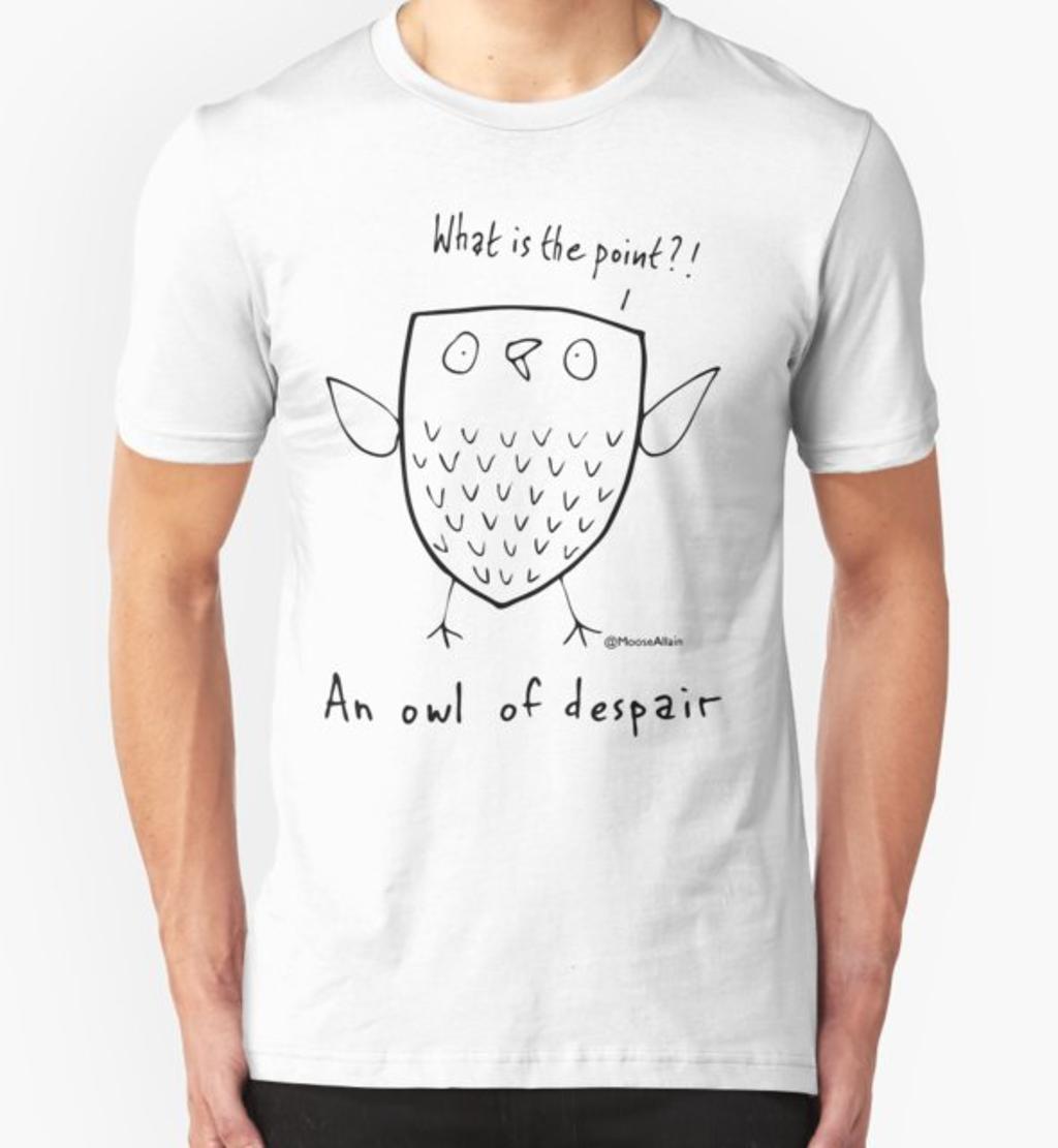RedBubble: An Owl of Despair