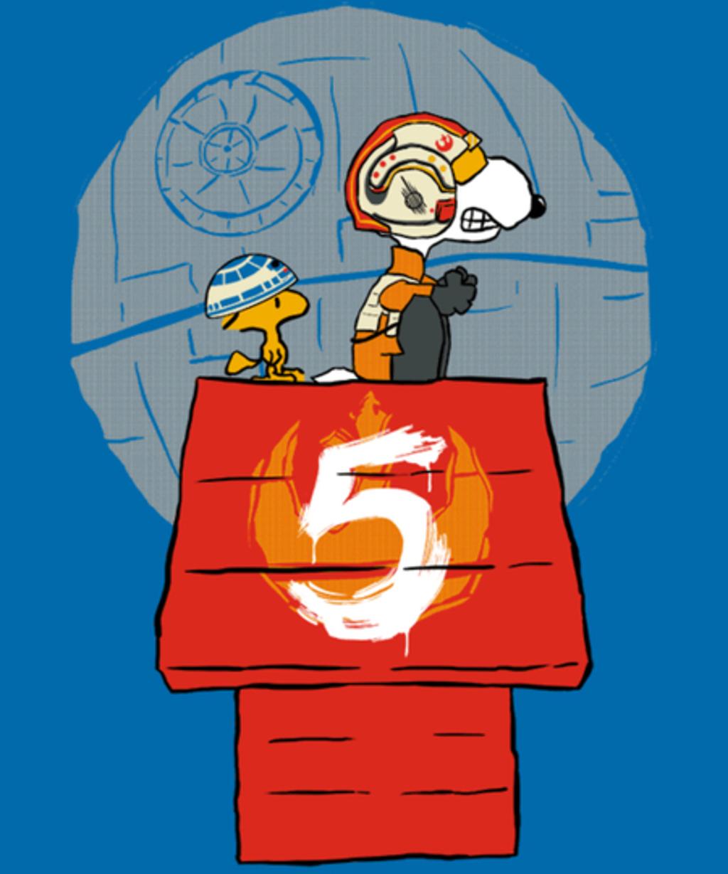 Qwertee: Peanut Squadron