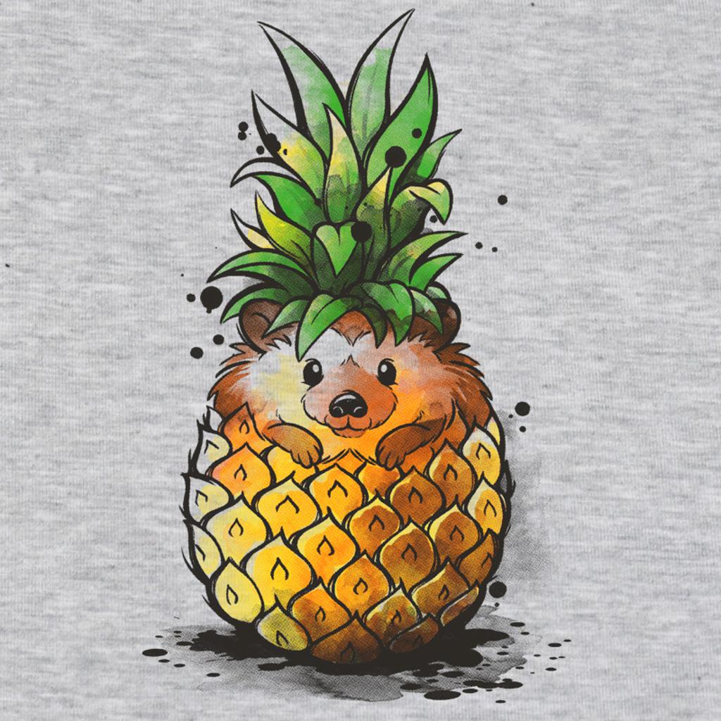 Pampling: Pineapple Hedgehog
