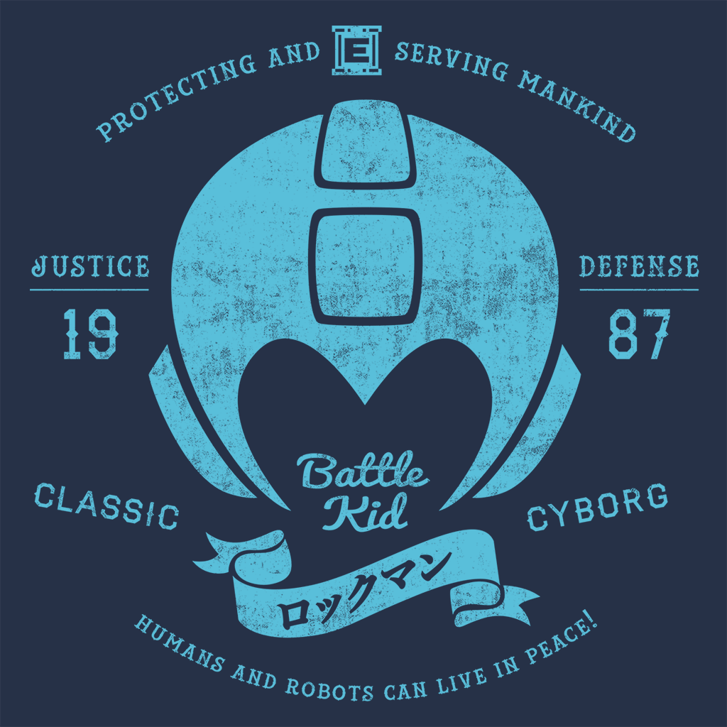 Pop-Up Tee: Classic Cyborg
