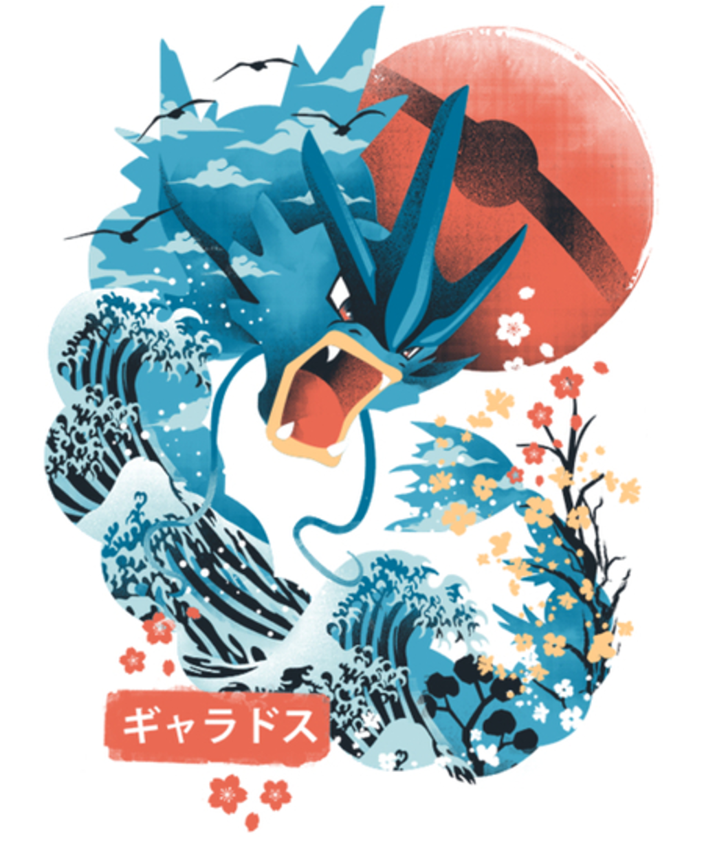 Qwertee: The Great Flying Wave