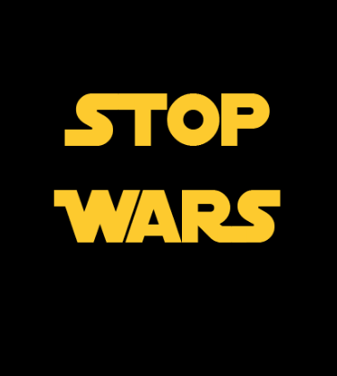 Shirt Battle: Stop Wars