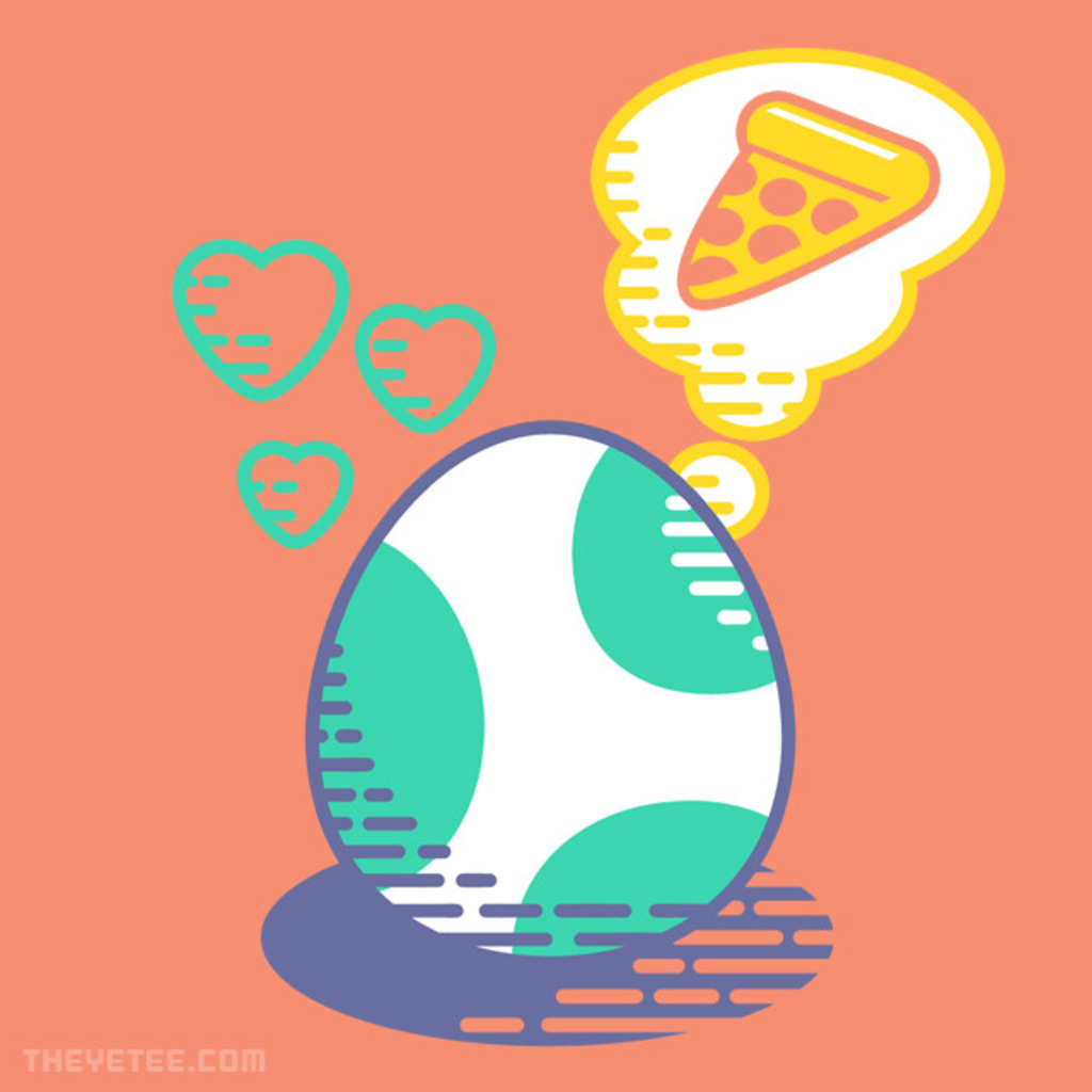 The Yetee: Pizza Dream