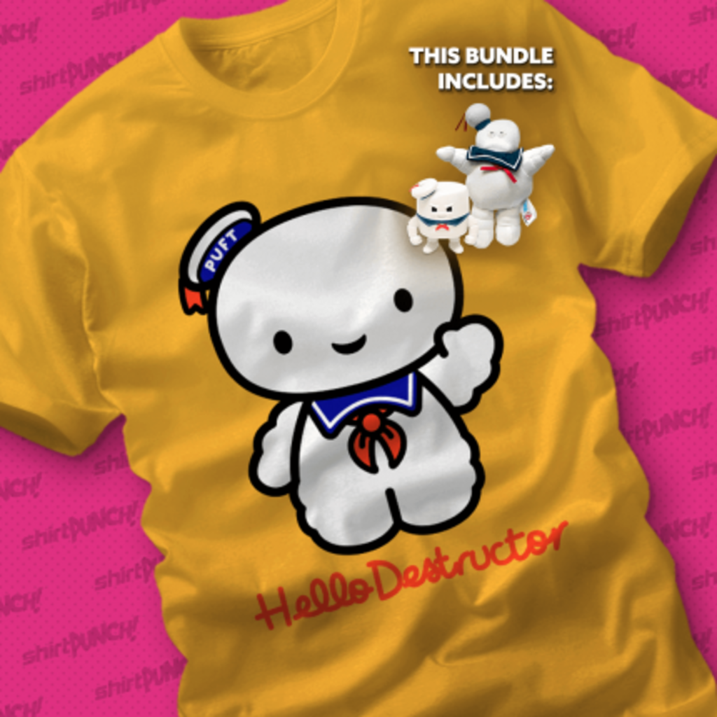 ShirtPunch: Keep Calm and Stay Puft Bundle