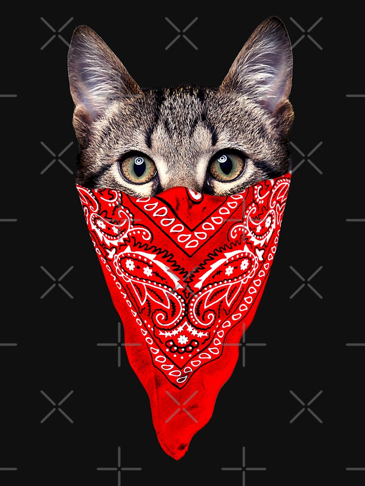 RedBubble: Gangster Cat