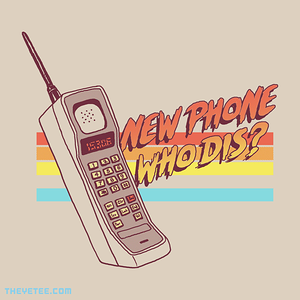 The Yetee: New Phone Who Dis?