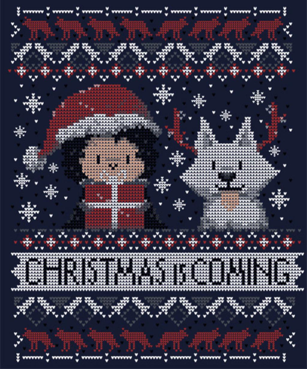 Qwertee: Christmas is coming