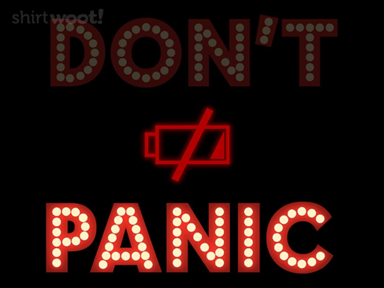 Woot!: Panic
